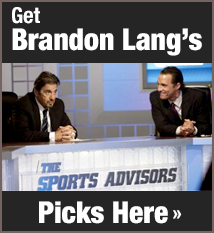 Brandon Lang's Picks